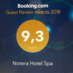 Notera Hotel SPA booking 256x256 - Guest Review Award 2018 dla Notera Hotel SPA!