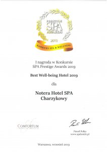 Notera Hotel SPA spa prestige awards 2019 2 212x300 - Nagrody SPA Prestige Awards 2019