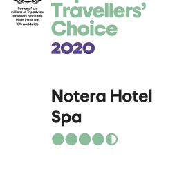 Notera Hotel SPA Tripadvisor travellers choice 2020 256x256 - Tripadvisor Travellers' Choice 2020 dla Notera Hotel SPA
